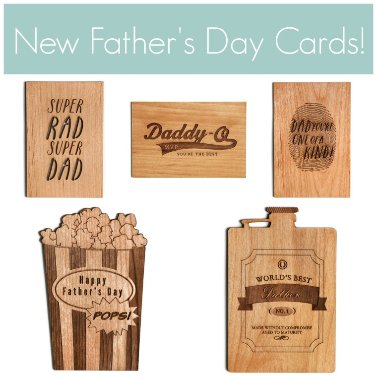 New Father's Day Designs