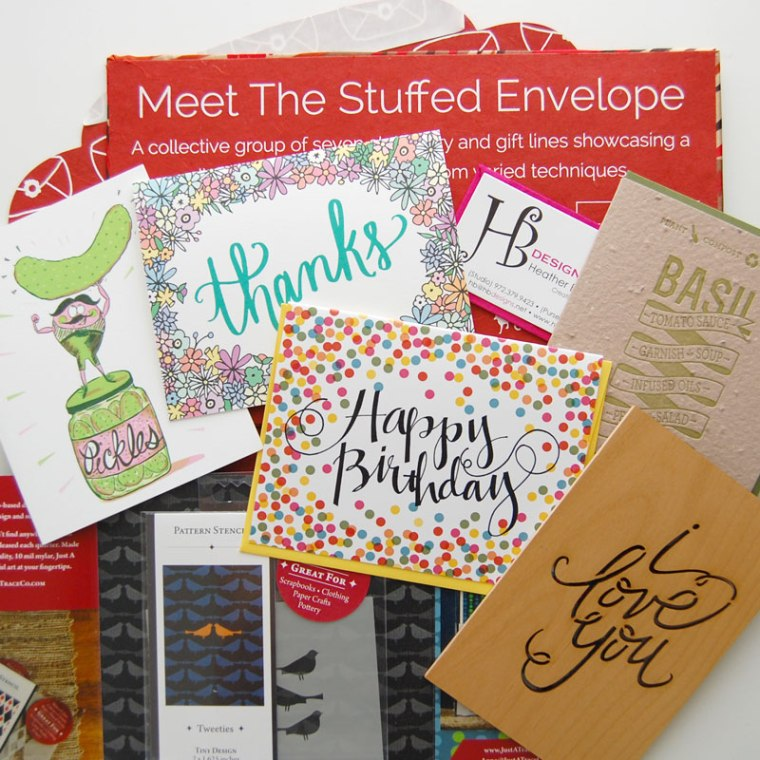 The Stuffed Envelope Products