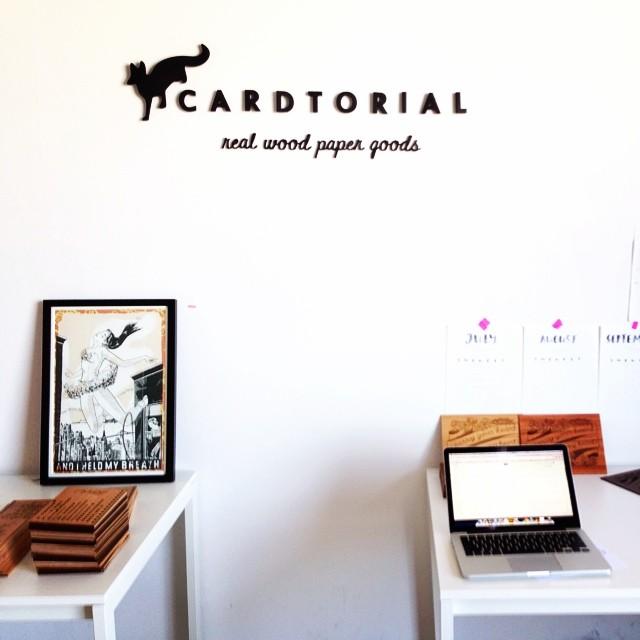 Cardtorial studio LA