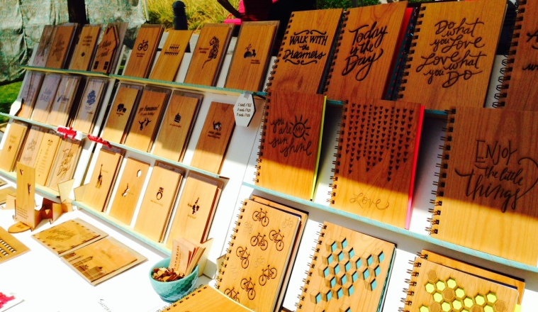 Cardtorial wood cards and journals