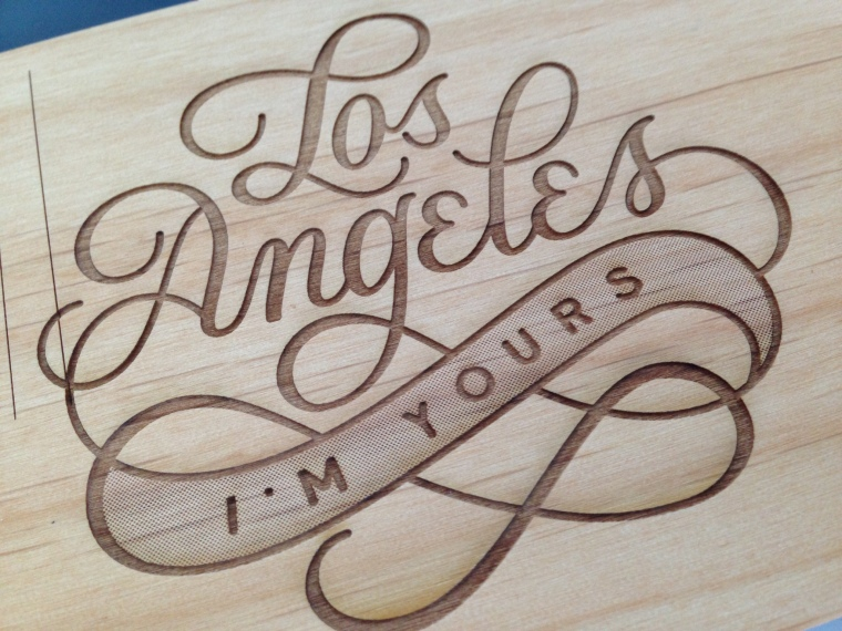 Cardtorial lasercut Los Angeles