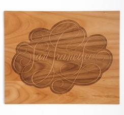 SF Wood Print
