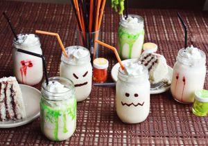Halloween milkshakes