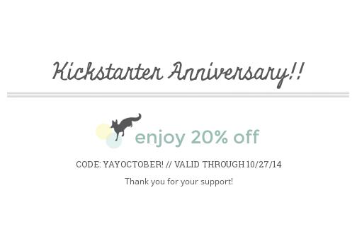 Kickstarter Anniversary