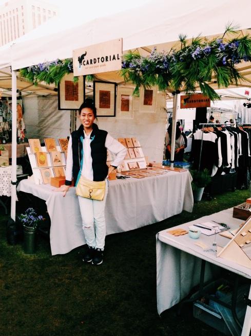 Cardtorial at Renegade Craft Fair Los Angeles