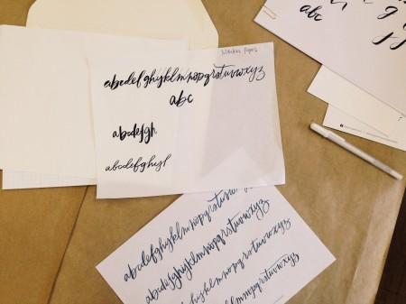 Nicole Santos lettering