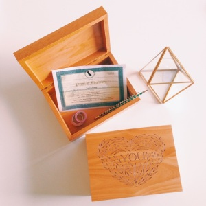 wood keepsake box for mom